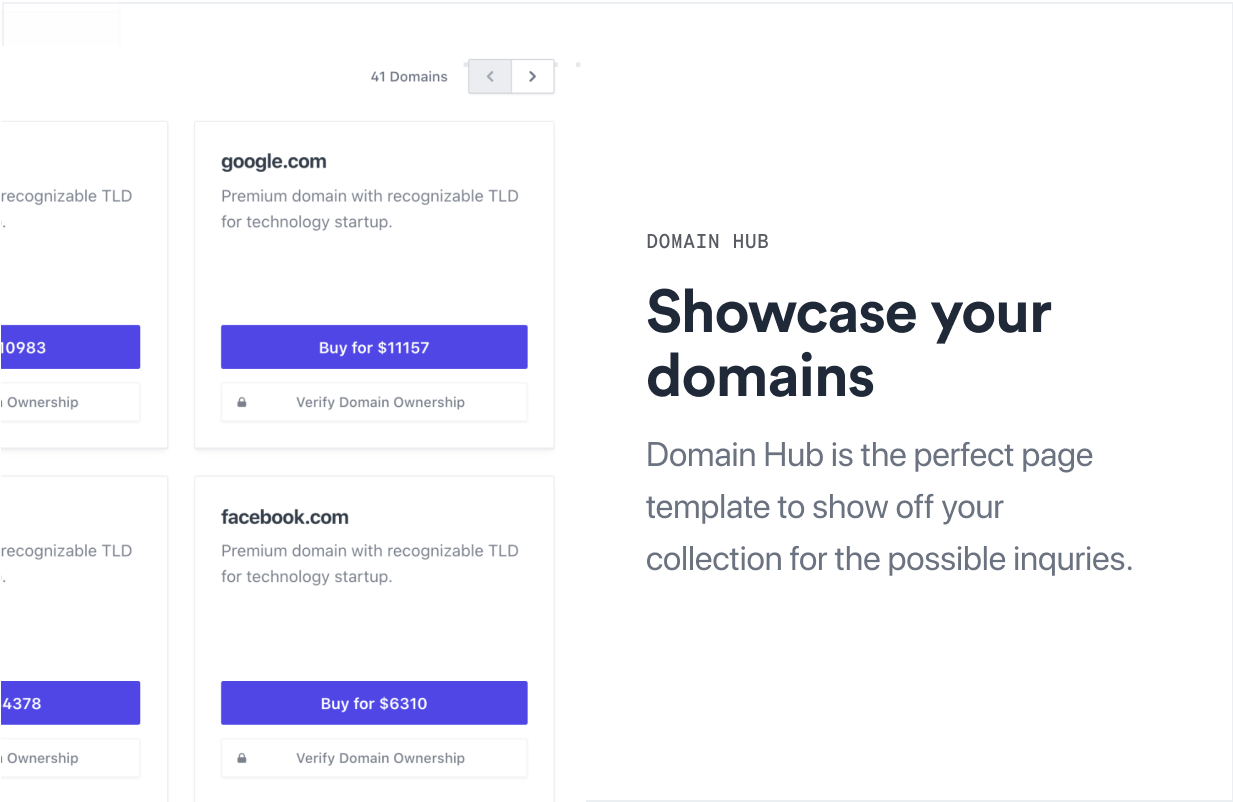 Nami | Complete Domain Sale Theme for WordPress - 4